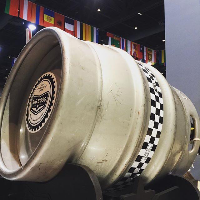 Thanks for the support of #casktoberfest 2015!  If you can't get traditionally poured cask beer you should visit the Convention Center tonight through Sunday when the #Raleigh International Festival will feature a few casks in their beer garden. We have a dry hopped High Roller firkin available when the doors open today at 5.  Bonus fun: name the flags above our cask!  Go...
