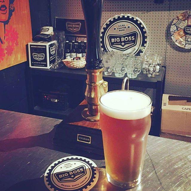 On the cask engine today is Miss Fitz Belgian pale ale.  Australian Ella & Victoria's Secret hops balance rye malts for hoppy spicy finish.