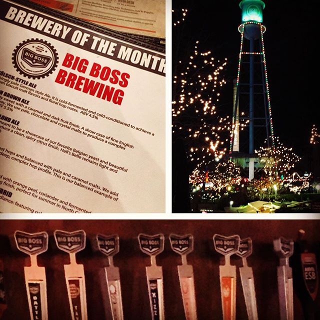 Enjoy a huge selection of Big Boss brews next time you stop at #tylerstaproom in the #bullcity.  Brewery of the month tappings take place for the rest of the month!