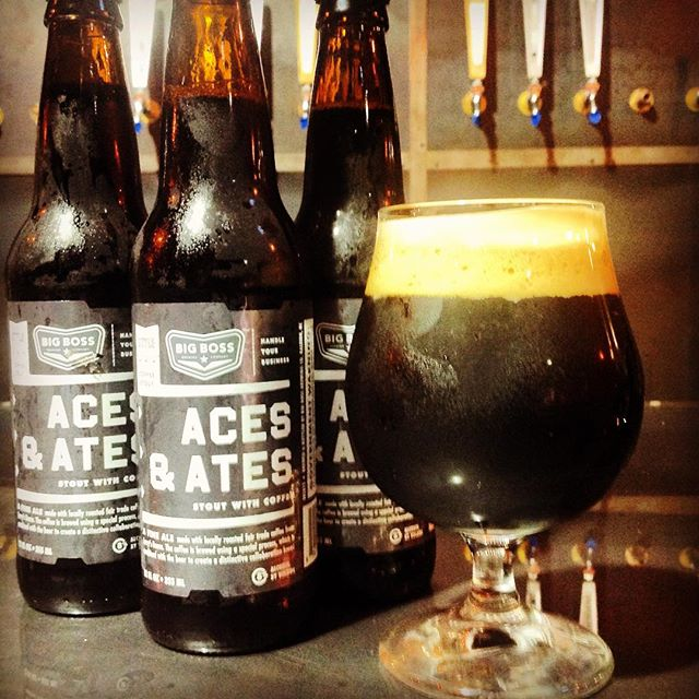 The long wait is over!  ACES & ATES coffee stout is now available!  Kegs and bottles have shipped from our brewery in #raleigh.  After this weekend you should not have to look to far to find a tap or a bottle of one of our most beloved offerings!  Learn more about how Aces & Ates was created with this educational video: https://youtu.be/jiFVjuhfVJQ #ncbeer #coffeestout
