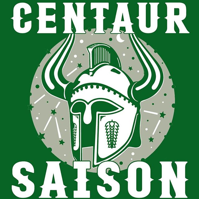 We are bringing back The Centaur, our Mosaic dry hopped saison! Already in wide distribution for your summertime #ncbeer pleasure, on tap and in specially marked 12 pack variety packs! #centaursaison #craftbeer #saison