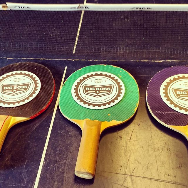 WEDNESDAY! Today is tournament day for Ping Pong Club starting at 6:00! All skill levels are welcome! Come on out, grab a pint and some dinner from Hugo's Taco Truck! @big_boss_taproom #craftbeer #pingpong #tournament #foodtruck #tacos