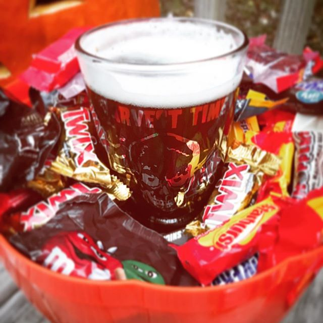 Why not have a little treat yourself? Candy for the kids, and Harvest Time for the kids at heart. Happy Halloween from all of us here at Big Boss. Be safe and be smart! #happyhalloween #raleigh #ncbeer