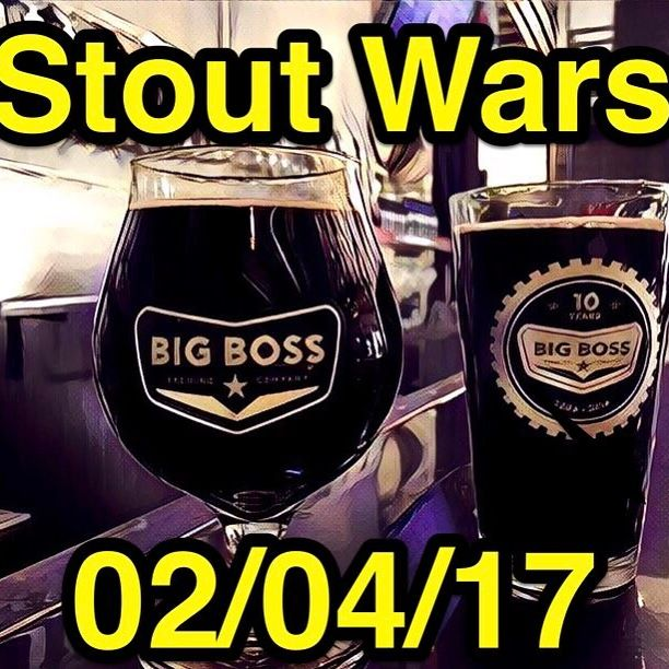 Stout Wars II is coming up on February 4th. Come enjoy some beers from the darkside. @nccomicon will be in attendance and will be hosting a Star Wars team trivia contest at 3pm! #raleigh #nccomicon2017 #ncbeer