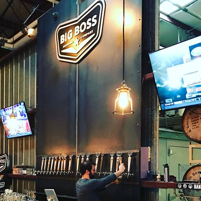 Come kick off your work week with us. Stop by to see Tony and get some fresh Warhawk and Blood Orange High Roller. #raleigh #ncbeer @theetbone #drinklocal