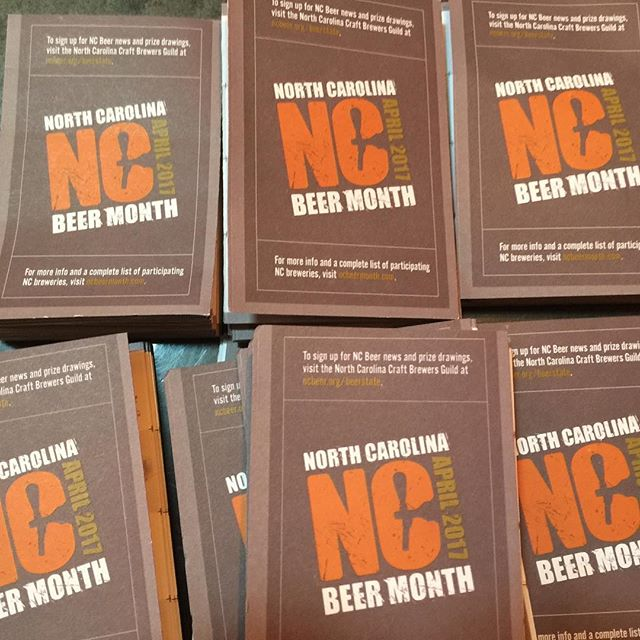 ‪Come to the taproom for your #ncbeermonth passport! ‬ We have several events lined up both here at the brewery and with our good friends at their pubs and restaurants! #ncbeer