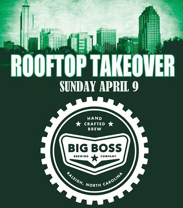 Today @ralbeergarden join us on the rooftop starting at noon! #raleigh #ncbeer #strangecargo