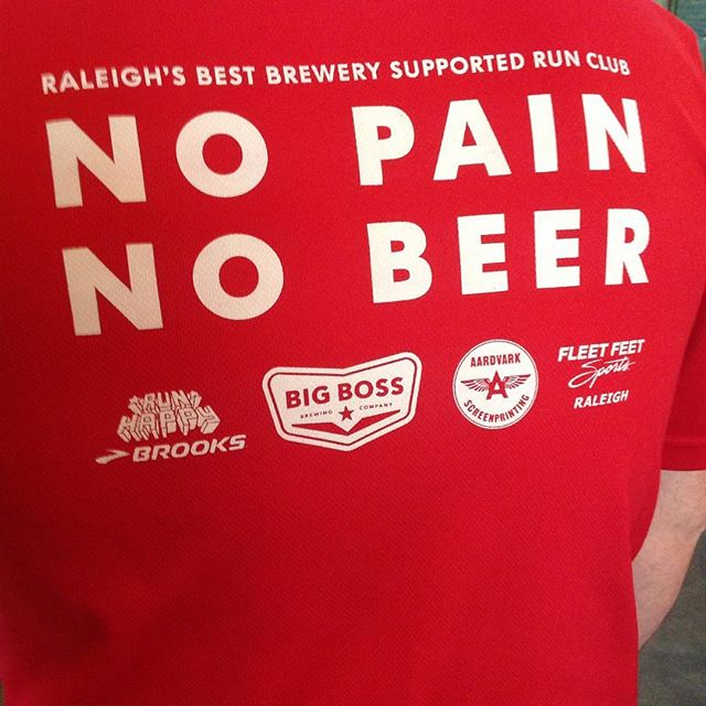 Ready for run club?! Tonight 7pm w/ @race131 #Raleigh Spring promo & @NCBulkogi truck?! bit.ly/2otdEjh #nopainnobeer