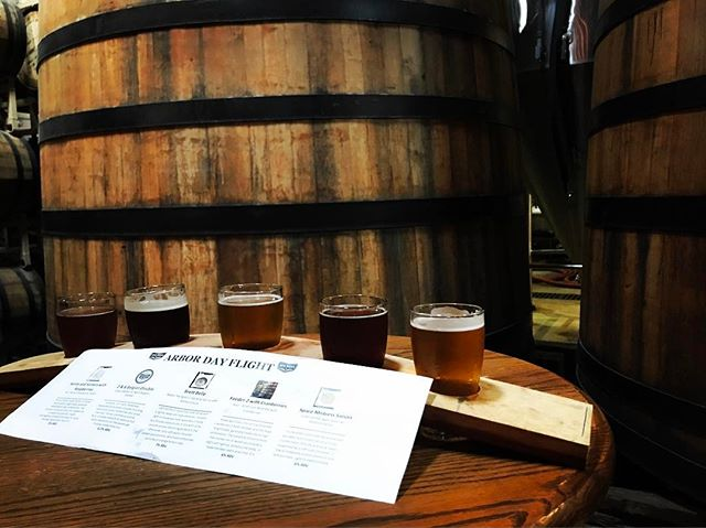 Our #ArborDay party is in full swing. 10 different Barrel Aged Beers to finish out #ncbeermonth2017. See you soon! #ncbeer #raleigh #drinklocal #woodisgood #strangecargo