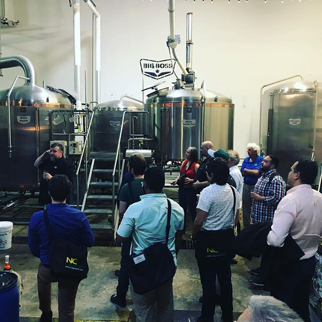 Welcoming a few trade groups from around the globe to our brewery for a tour. #craftbeer