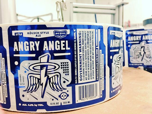 ‪Getting ready to roll out some Angry Angel Kölsch on this bottling day! ‬