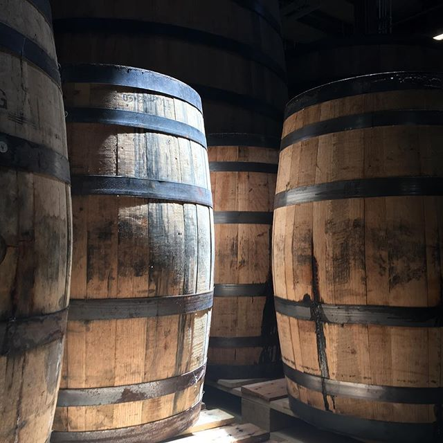 We are planning the release of 6 new beers in the #strangecargo series of oak aged ales! Really excited to fill this fresh set of bourbon barrels soon!  Keep following for info on @big_boss_taproom releases!  #woodandbeer #ncbeer