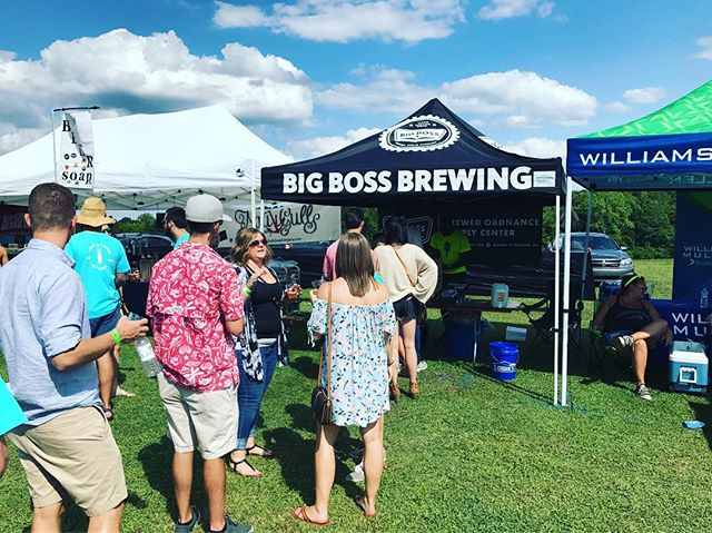 Beautiful day for @beericana at Sugg Farm Park in Holly Springs! #beericana #ncbeer #hollysprings #drinklocal