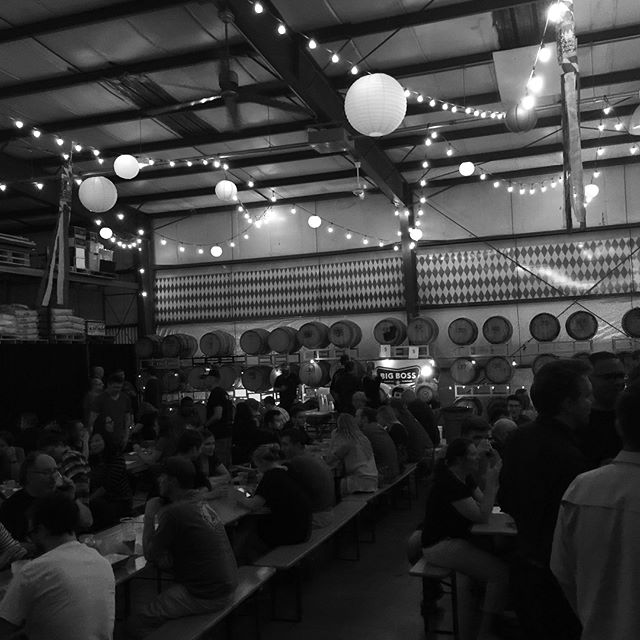 Thank you once again for a wonderful evening!  We hope you return next year! #Casktoberfest #raleigh #biergarten #caskale