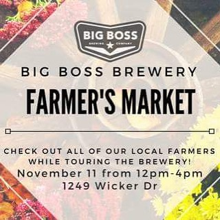 Save the date and visit @big_boss_taproom on the second Saturday in November! #raleigh