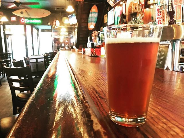 Come try our Strange Cargo Saints and Raspberries right here on Market St. in Wilmington. Stop by @theliquidroom and get it while you can. #wilmingtonnc
