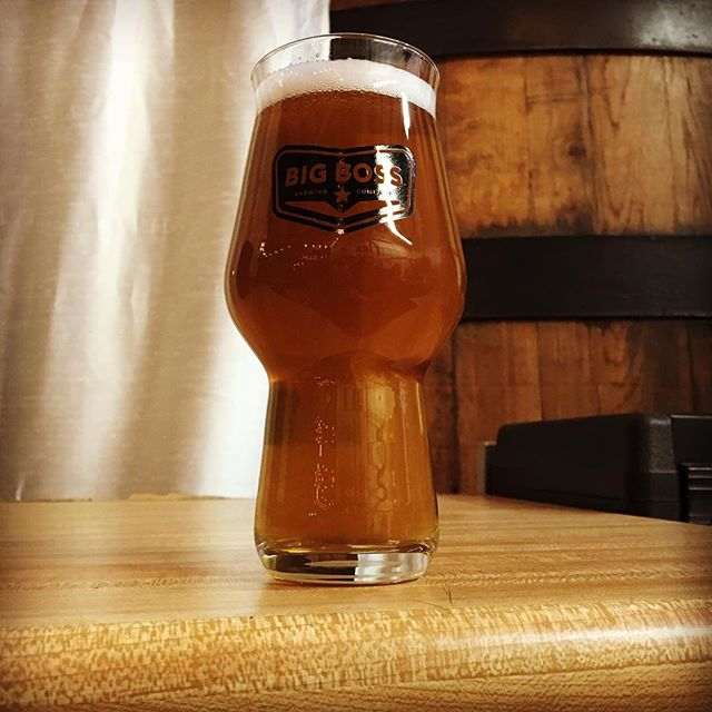 This evening in the @big_boss_taproom - Meet Hashwit, our new small batch Belgian pale ale! Grapefruit peel, Trappist ale yeast and a boatload of El Dorado hop hash transform this traditional witbier base into a truly unique Belgo-American hybrid. #ncbeer #pilotsystem #smallbatch