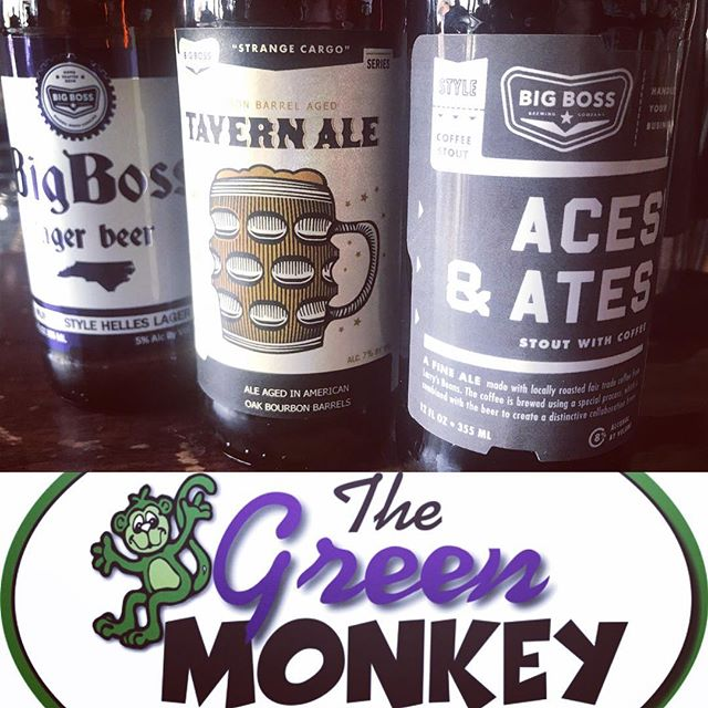 Join us at the @greenmonkeyraleigh tomorrow night for some fun Bingo with friends and great beer! Special prizes for the winners. #raleigh