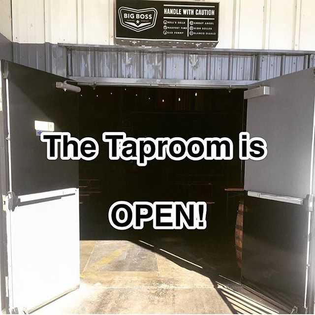Shake off the cabin fever by coming out to the taproom today. We open at 2 and will have @arepaculturenc here at 6:30pm. See you soon!